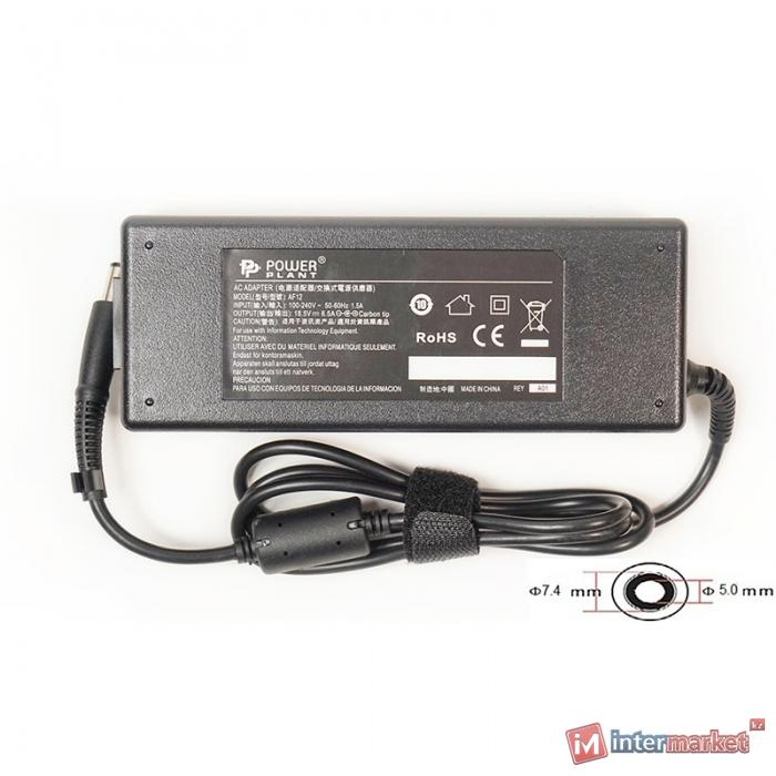 Блок питания для ноутбуков PowerPlant HP 220V, 18.5V 120W 6.5A (7.45.0)