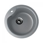 Врезная кухонная мойка EcoStone ES-13 309 (темно-серый)