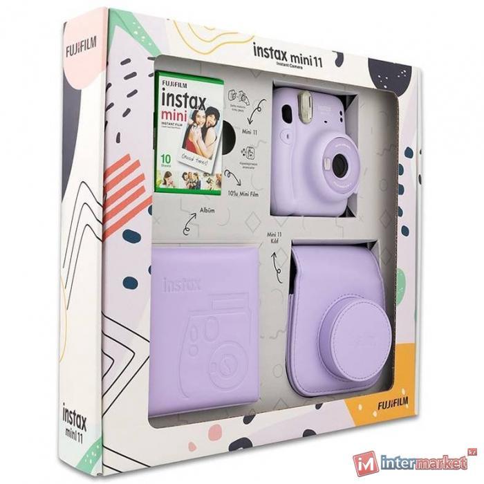 Фотоаппарат компактный FUJIFILM INSTAX MINI 11 BOX (LILAC PURPLE)