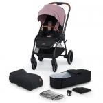 Коляска 2в1 Kinderkraft EVOLUTION COCOON Mauvelous Pink