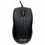 Мышь Delux DLM-375OTB black