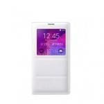 Чехол Samsung S View Cover Padding for Note 4 EF-CN910BWEGRU white